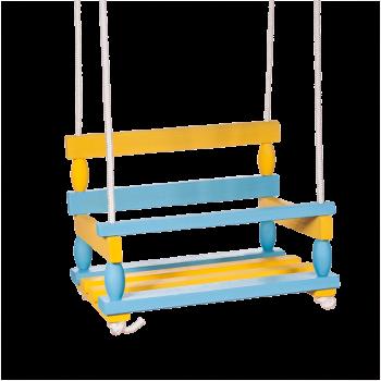 Houpačka modrožlutá
