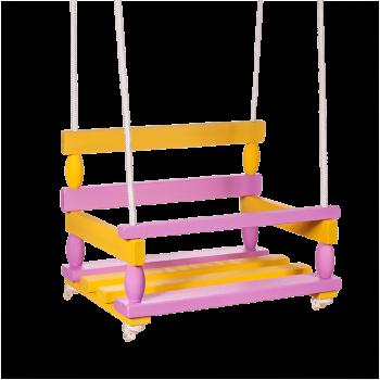 Houpačka fialovožlutá