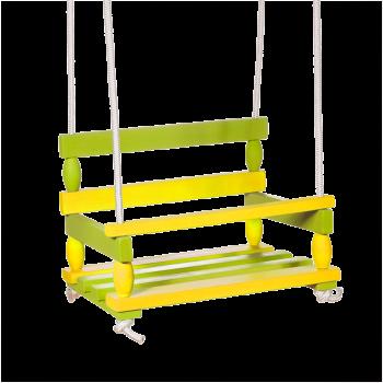 Houpačka žlutozelená