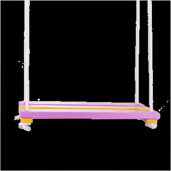Houpací prkno fialovožluté
